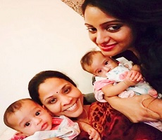 Pic: Udayabhanu's Twin Daughters