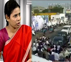 Bhuma Daughter Attacked by Jagan Followers