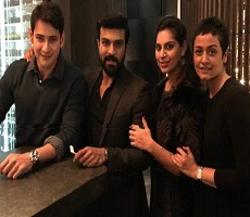 Mahesh And Charan, New Business Partners??