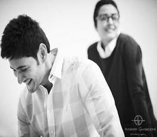 Candid Pic: Namrata Behind Mahesh