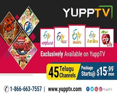 ETV now exclusively available on YuppTV in USA