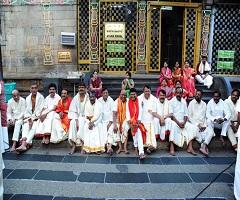 Pic Talk: Not just KCR, Telangana Govt In Tirumala