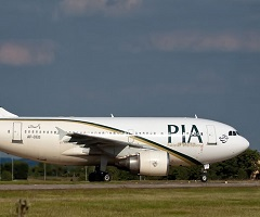 Pakistani Flight Takes 7 Passengers Standing on Aisle