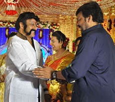 Cheer The Pic: Chiranjeevi With Balakrishna