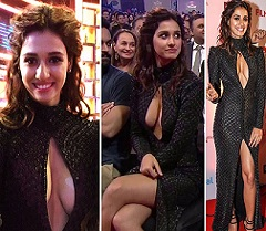 Heroine Responds On Cleavage Show Comments