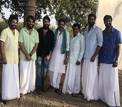 Pic: Fan Moment With Katamarayudu & Co