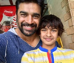 Rare Pic: Star Hero's Selfie with Son