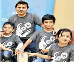 Telugu children make India proud in US