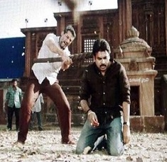 Crucial Fight in Katamarayudu Leaked!