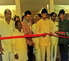 Throwback Pic: Young Rana with CBN, KCR