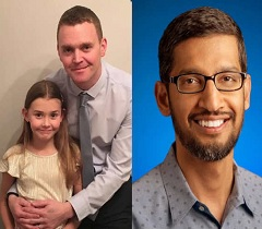 7-yr-old girl wants a job in Google; gets reply from CEO Sundar Pichai
