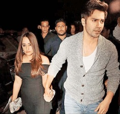Varun's Public Appearance With GF!