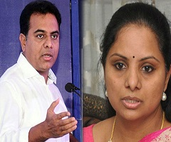 KTR & Kavitha 'Disappoints' KCR!