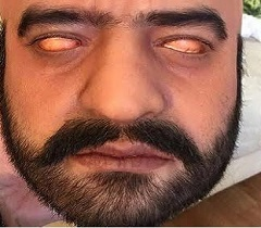 Exclusive Pic: NTR's Scary Look As 'Jai'