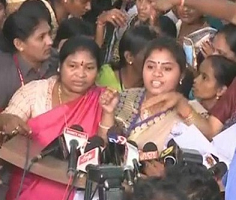 Women lawmakers in Andhra nearly came to blows
