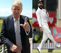 Aus Media Compares Kohli With Trump