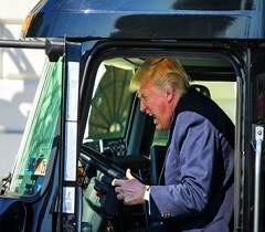 When Trump Acted As Truck Driver