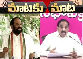 Uttam Kumar Reddy Vs Thummala Nageswara Rao || Market Yard || War of Words || Mataku Mata