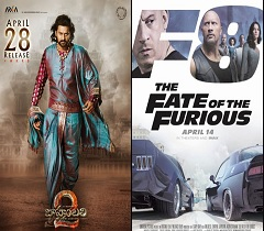 Baahubali 2 Shatters Fast & Furious 8 Record