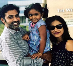 Rare Pic: Nandamuri Hero's Lovely Family