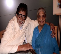 Megastar Fulfills Wish of 103-year-old Fan