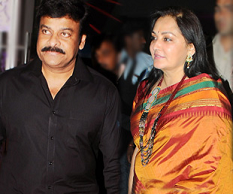 Jayaprada's Political Satire on Chiru