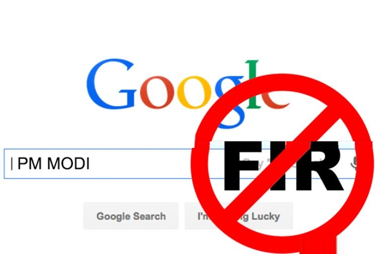 FIR against Google over search result on PM Modi