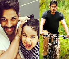 Bunny's Son Calls Himself Mahesh Babu!