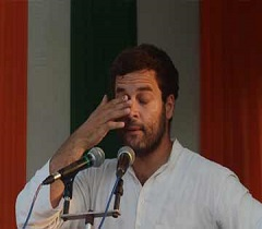 Modi big fat celebration is in the cost of people tears BOILS RAHUL GANDHI