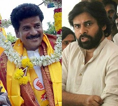 Revanth Reddy Supports Pawan's Anti-TDP Views!