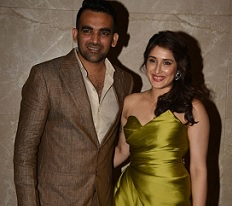 Zaheer Officially Engaged to Sagarika