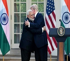 Trump-Modi: Hugs, Handshakes & Tough Msg To Pak