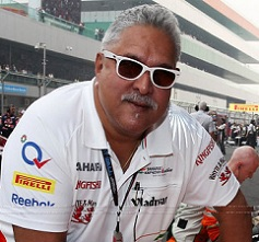 No more 'India' in Mallya's 'Force India'?