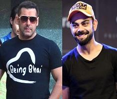 Virat Kohli beats Salman Khan