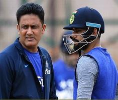 Blame Game with Kohli: Coach Kumble Quits Post