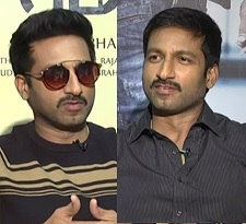 Gopichand Special Interview  in Double Role !