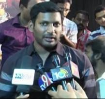 Hero Vishal on Tollywood Drug Scandal