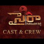 SYE RAA NARASIMHA REDDY Cast & Crew | Amithab Bachchan | Kuchcha Sudeep | Nayanatara | AR Rahman