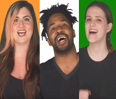 Foreigners Sing Indian National Anthem