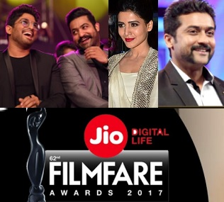 FilmFare South 2017 Awards Full Videos