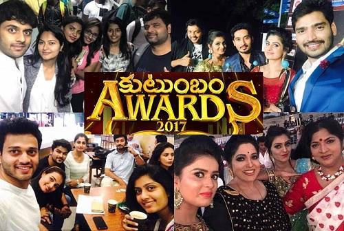 ZEE Telugu Kutumbam Awards 2017 – 7th Oct