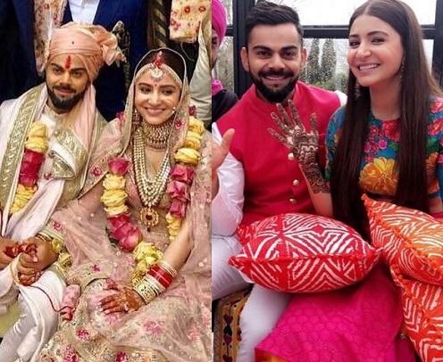 Virat Kohli & Anushka Sharma Wedding Gallery