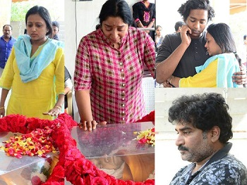 Rajiv Kanakala Mother Lakshmi Devi condolences Photos