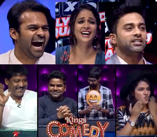 Navdeep's Tollywood Squares Game Show with BigBoss team- 17th Feb