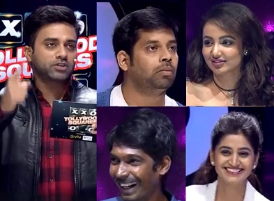 Navdeep's Tollywood Squares Game Show with BigBoss team- 18th Feb