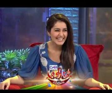 Alitho Saradagaa – 19th Mar with Actress Rashi Khanna