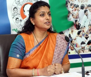 Roja Comes To Pawan's Defence!