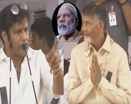 Balayya speaks at his worst on Modi!