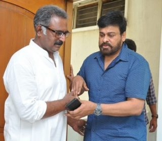 Chiranjeevi Visited Actor Banerjee House Photos