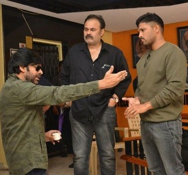 Pawan and Bunny at Film Chamber Photos